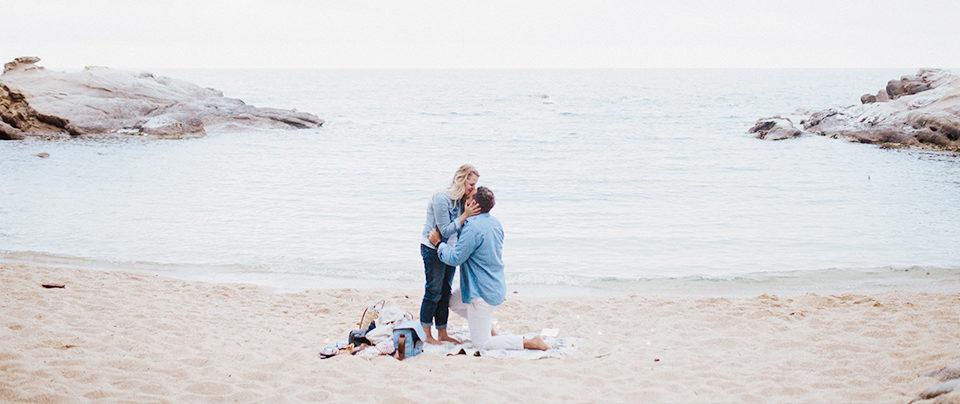 Heiratsantrag in Spanien