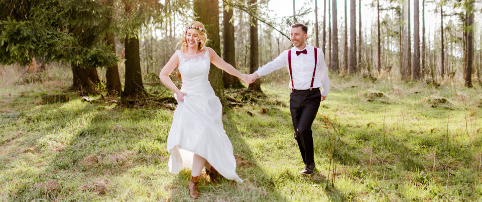 Wald und Wiesen After Wedding Shooting im Vogelsberg